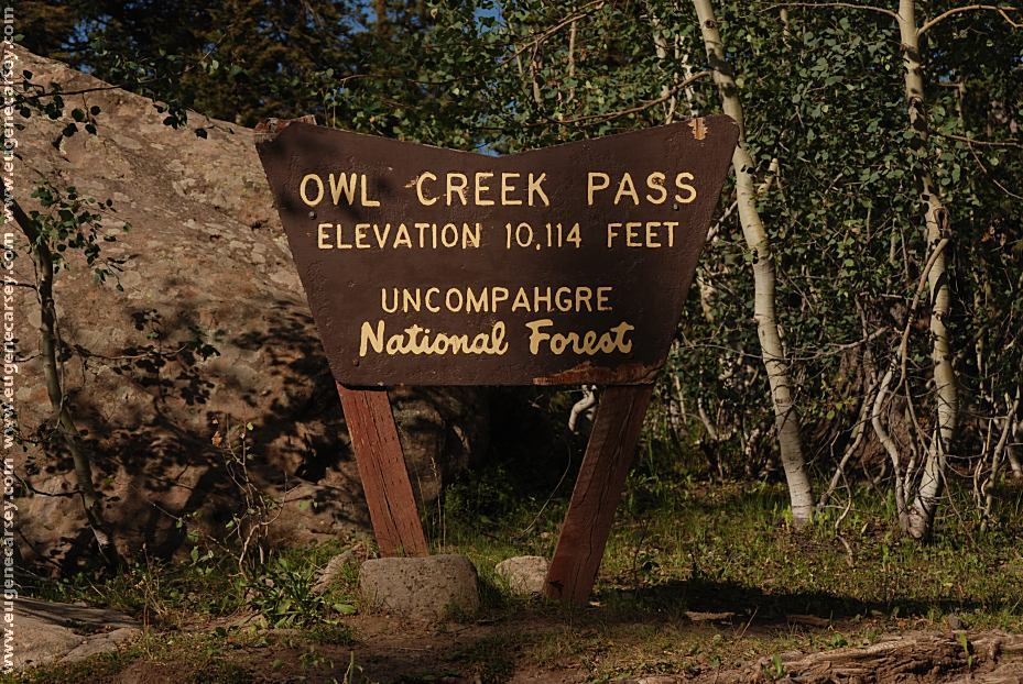 Free Campgrounds Owl Creek Pass In Uncompahgre National