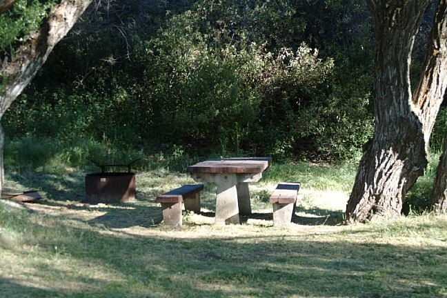 Free Campgrounds - Ozena Campground in Los padres National